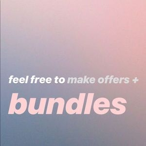 Other - make offers/bundle + ask for discount!